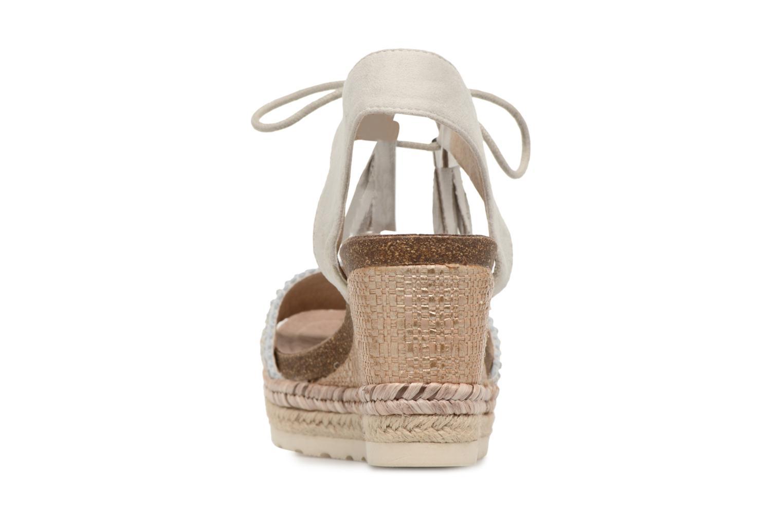 Sandales et nu-pieds Refresh Boxi Gris vue droite