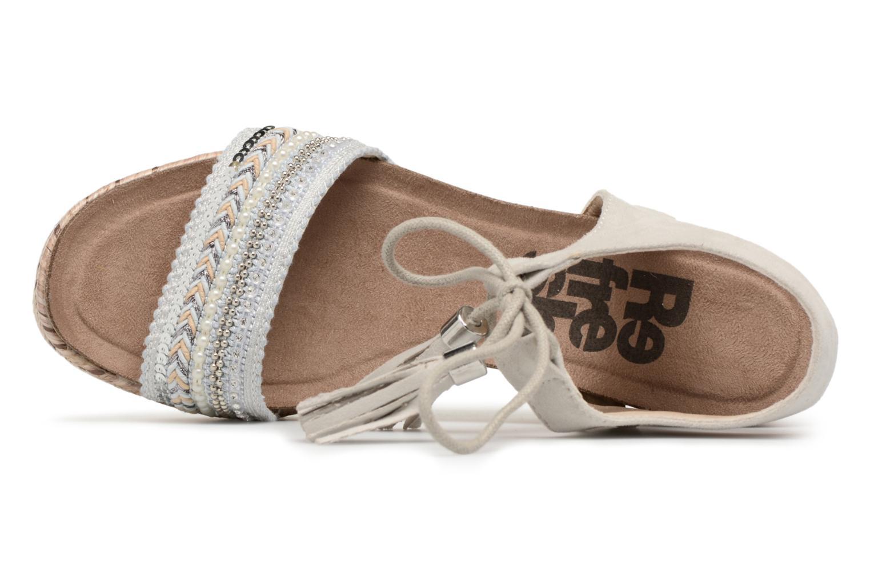 Sandales et nu-pieds Refresh Boxi Gris vue gauche