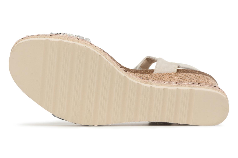 Sandales et nu-pieds Refresh Boxi Gris vue haut
