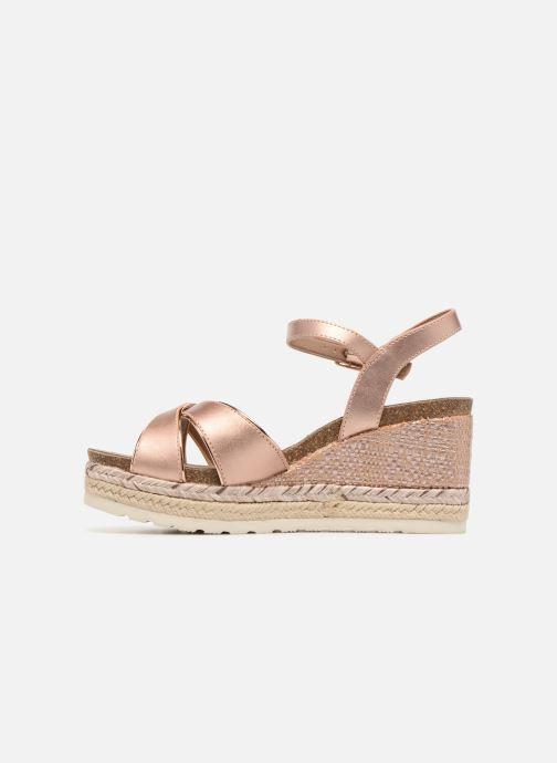 Sandales et nu-pieds Refresh Wuge Beige vue face