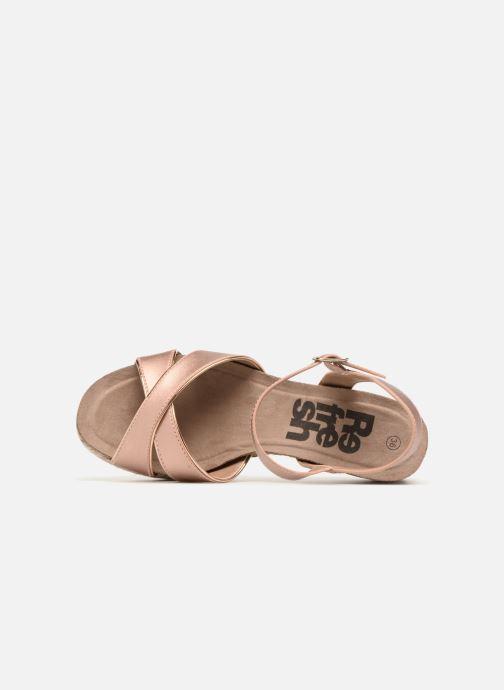 Sandales et nu-pieds Refresh Wuge Beige vue gauche