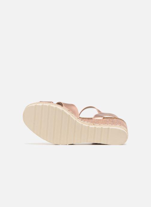 Sandales et nu-pieds Refresh Wuge Beige vue haut