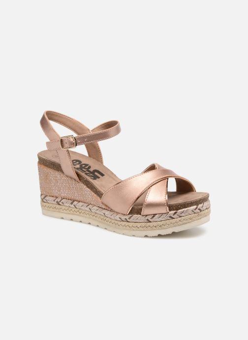 Sandales et nu-pieds Refresh Wuge Beige vue détail/paire
