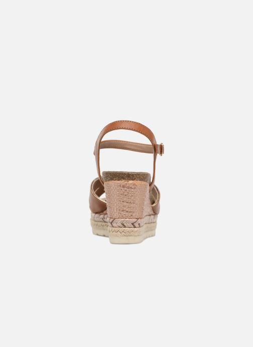 Sandales et nu-pieds Refresh Wuge Marron vue droite