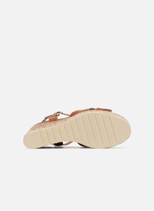 Sandales et nu-pieds Refresh Wuge Marron vue haut