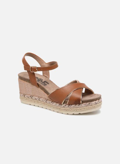 Sandales et nu-pieds Refresh Wuge Marron vue détail/paire
