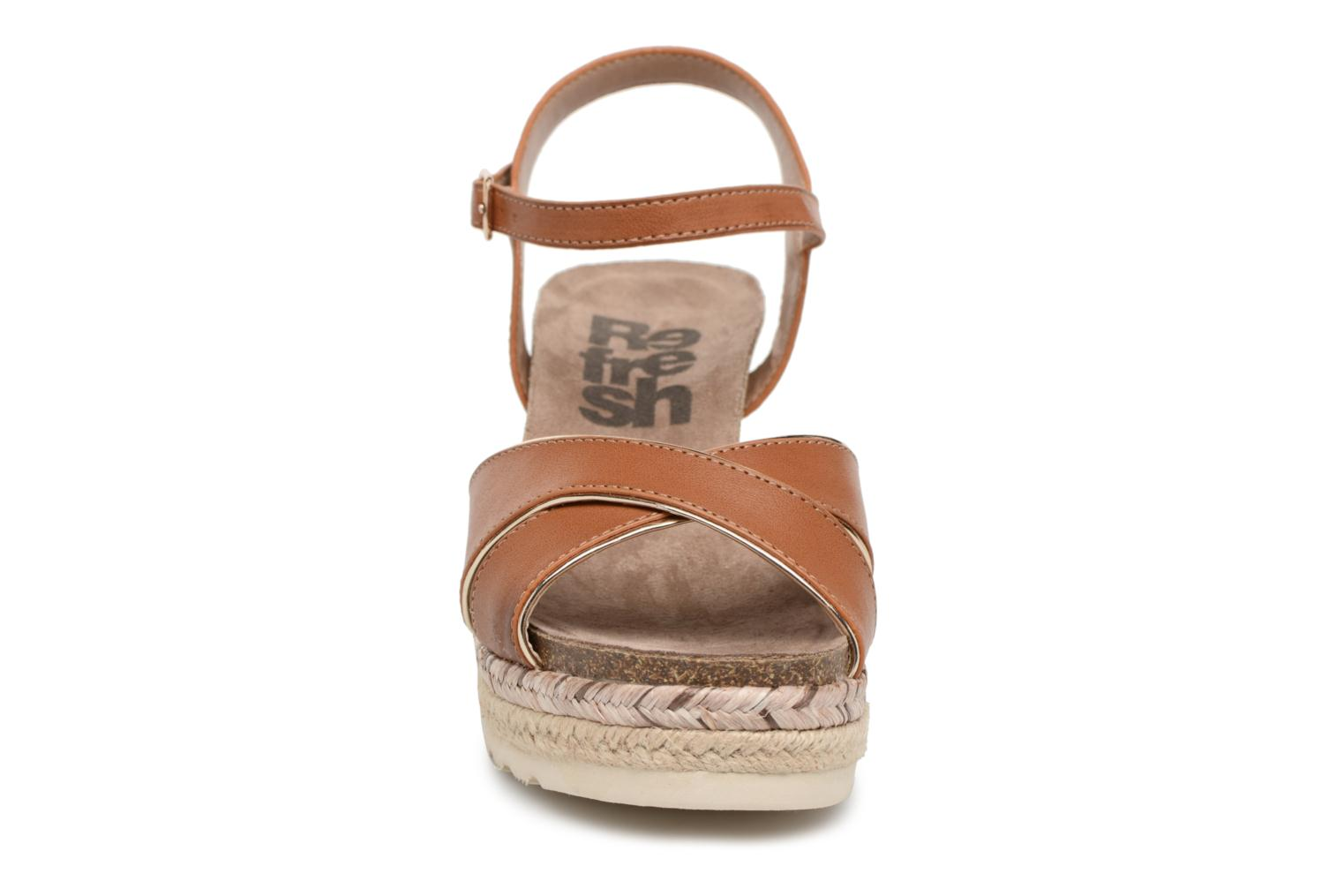 Sandals Refresh Wuge Brown model view