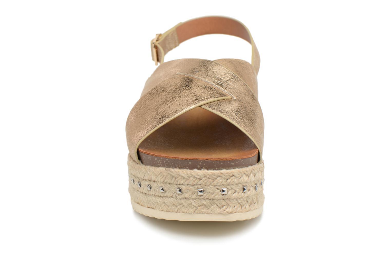 Sandales et nu-pieds Refresh Onos Or et bronze vue portées chaussures