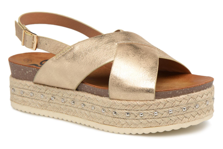 Sandales et nu-pieds Refresh Onos Or et bronze vue détail/paire