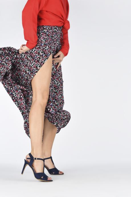 Sandales et nu-pieds Refresh Meka Bleu vue bas / vue portée sac