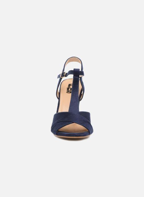 Sandales et nu-pieds Refresh Meka Bleu vue portées chaussures