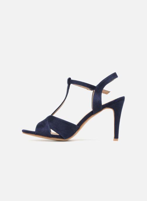 Sandales et nu-pieds Refresh Meka Bleu vue face