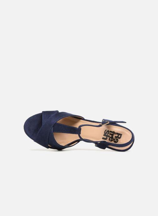 Sandales et nu-pieds Refresh Meka Bleu vue gauche