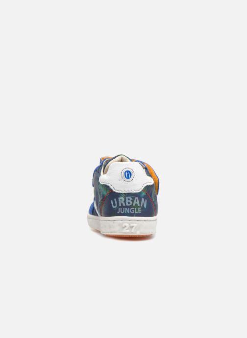 Sneaker Shoesme Sancho blau ansicht von rechts
