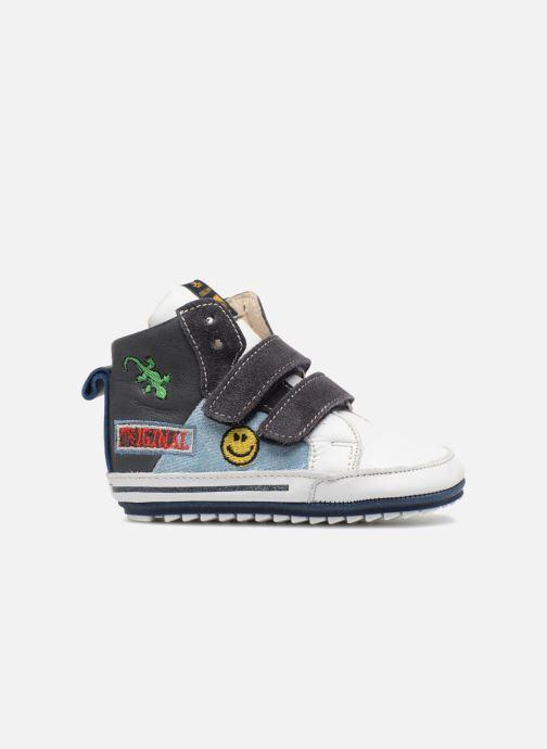 Sneakers Shoesme Sevan Azzurro immagine posteriore
