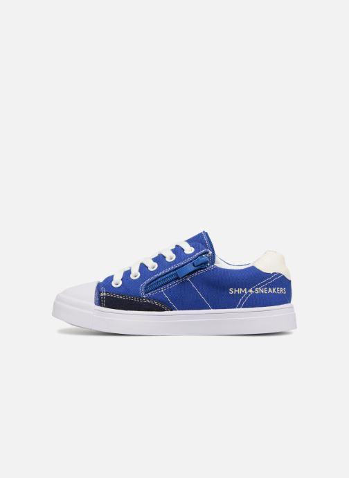 Sneaker Shoesme Sosio blau ansicht von vorne
