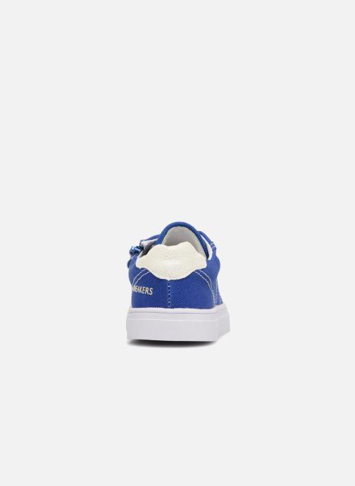Sneaker Shoesme Sosio blau ansicht von rechts