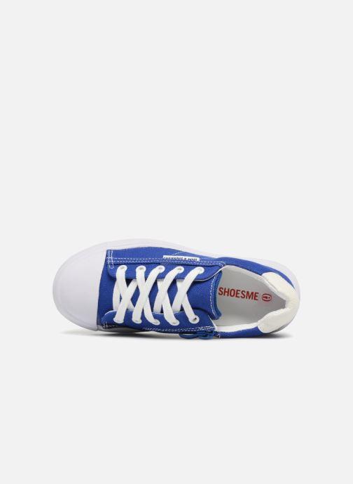 Sneaker Shoesme Sosio blau ansicht von links