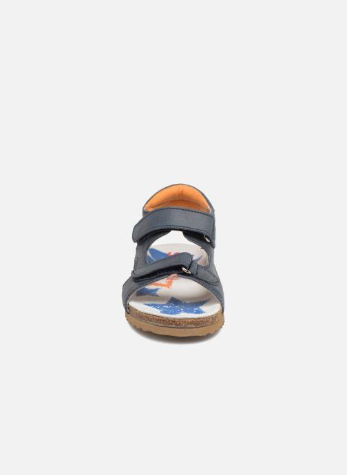 Sandales et nu-pieds Shoesme Sabin Bleu vue portées chaussures