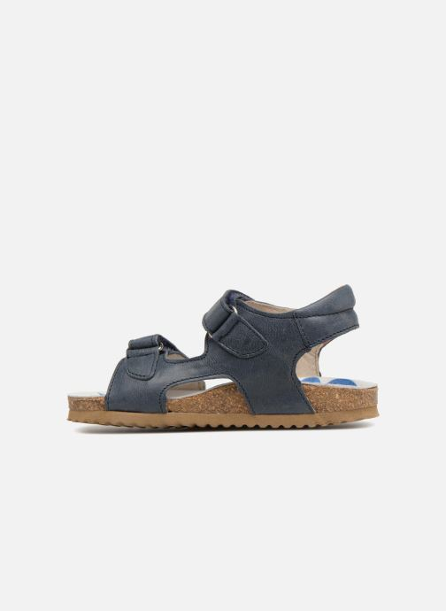 Sandalias Shoesme Sabin Azul vista de frente