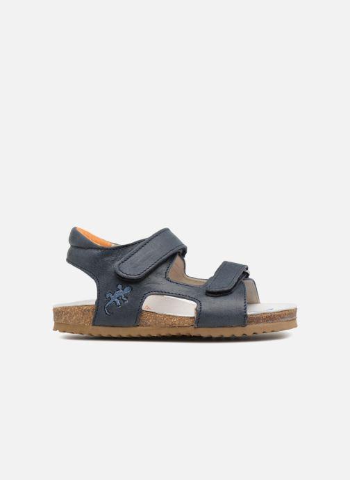 Sandales et nu-pieds Shoesme Sabin Bleu vue derrière