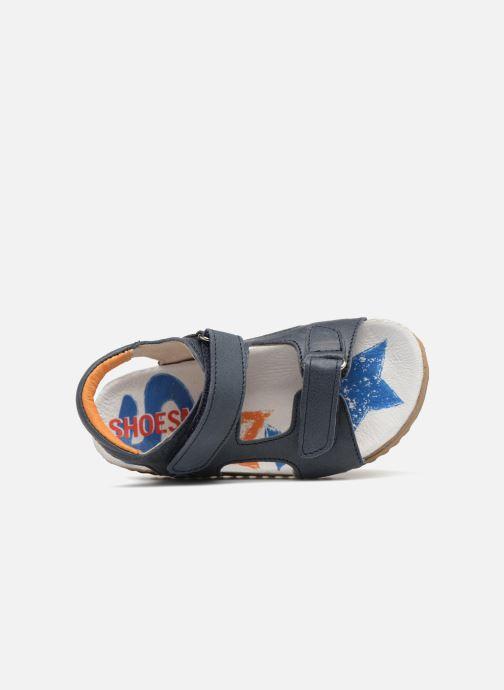 Sandalias Shoesme Sabin Azul vista lateral izquierda