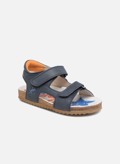 Sandales et nu-pieds Shoesme Sabin Bleu vue détail/paire
