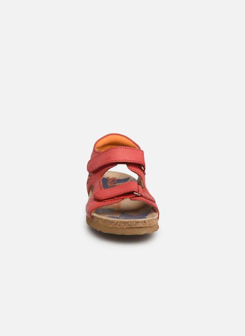 Sandales et nu-pieds Shoesme Sabin Rouge vue portées chaussures