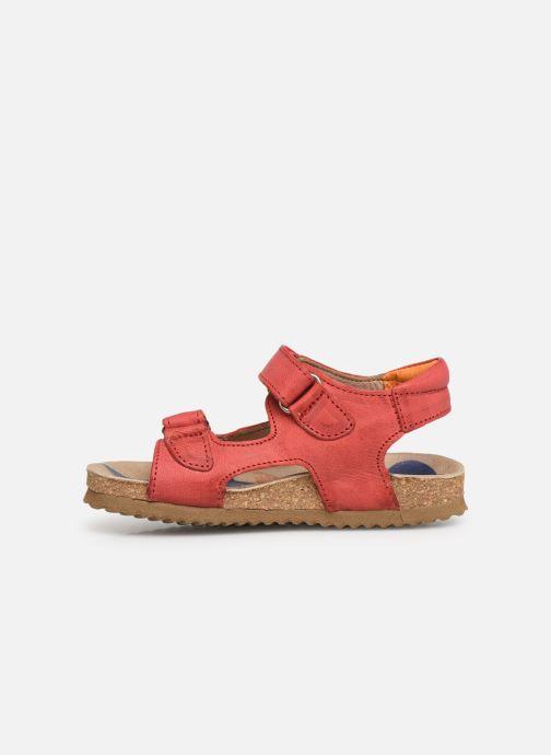 Sandales et nu-pieds Shoesme Sabin Rouge vue face