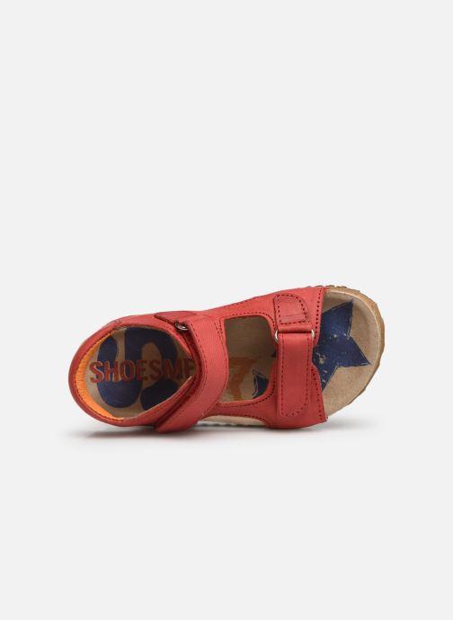 Sandales et nu-pieds Shoesme Sabin Rouge vue gauche
