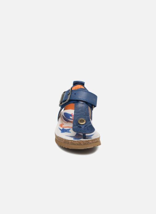 Sandales et nu-pieds Shoesme Salva Bleu vue portées chaussures