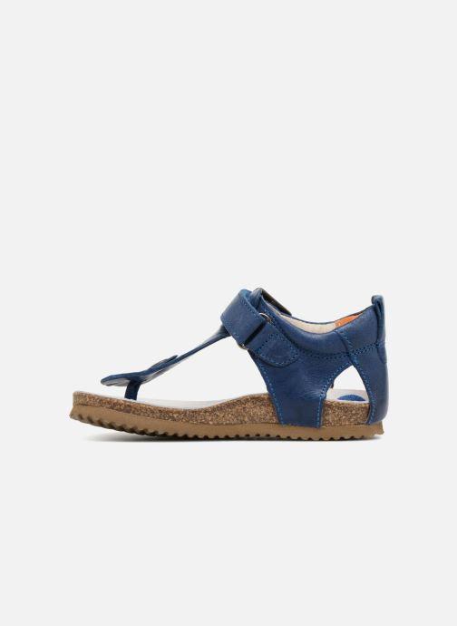 Sandales et nu-pieds Shoesme Salva Bleu vue face