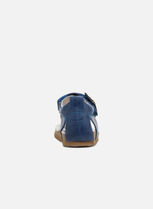 Sandales et nu-pieds Shoesme Salva Bleu vue droite