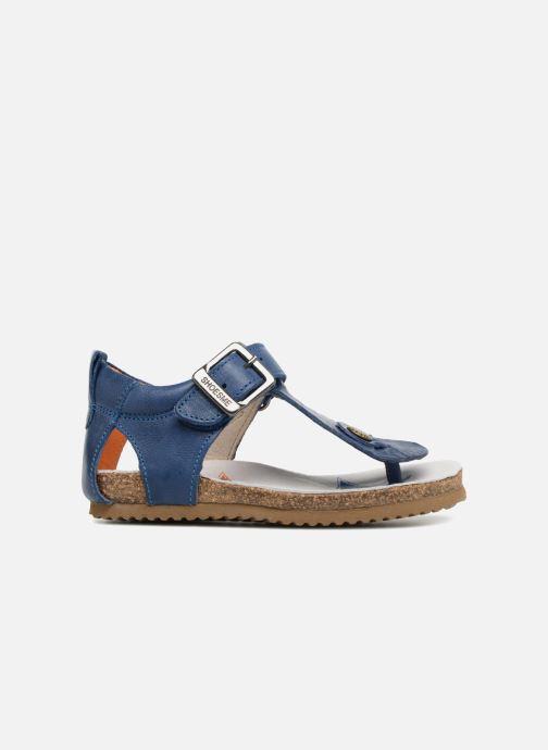 Sandales et nu-pieds Shoesme Salva Bleu vue derrière