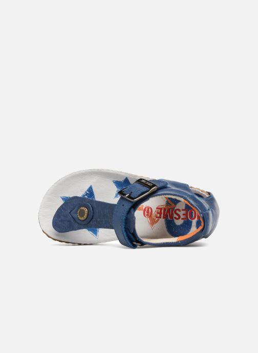 Sandalen Shoesme Salva Blauw links