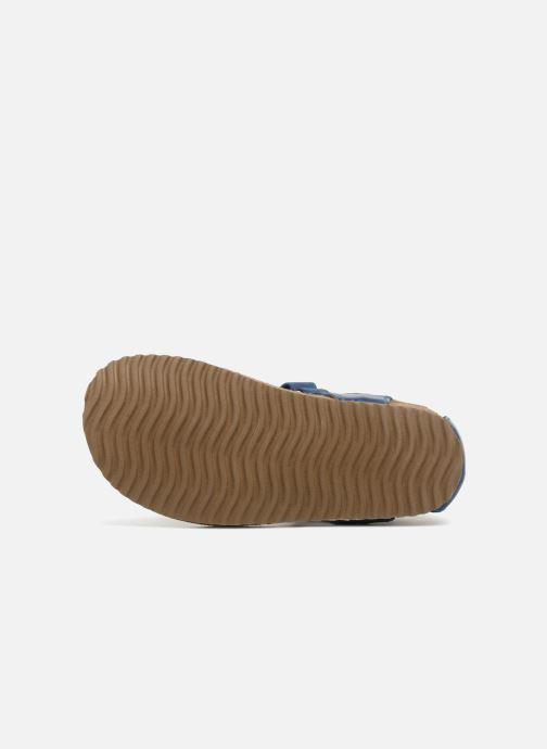 Sandales et nu-pieds Shoesme Salva Bleu vue haut