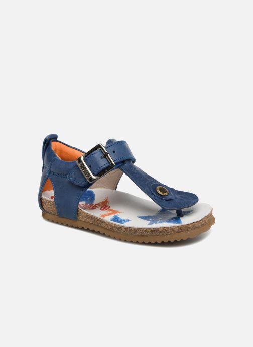 Sandales et nu-pieds Shoesme Salva Bleu vue détail/paire