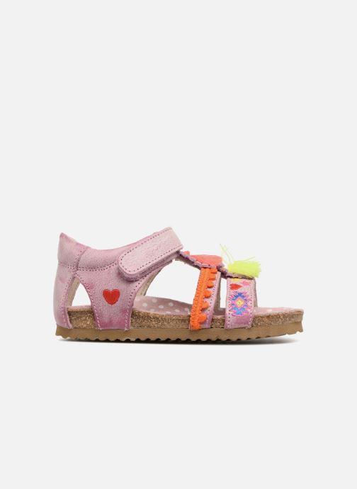 Sandales et nu-pieds Shoesme Siloé Rose vue derrière