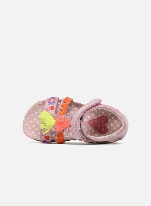 Sandales et nu-pieds Shoesme Siloé Rose vue gauche