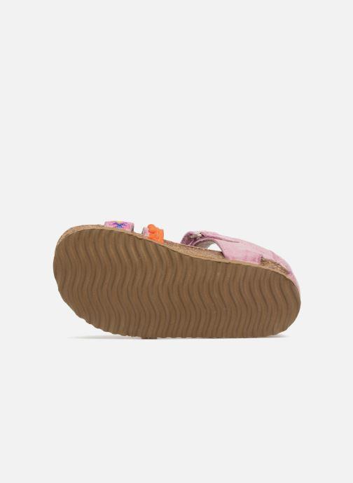 Sandales et nu-pieds Shoesme Siloé Rose vue haut