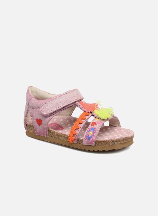 Sandales et nu-pieds Shoesme Siloé Rose vue détail/paire