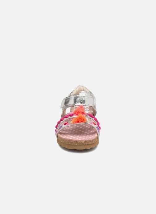 Sandales et nu-pieds Shoesme Siloé Argent vue portées chaussures