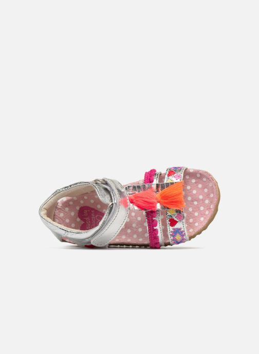 Sandalen Shoesme Siloé Zilver links