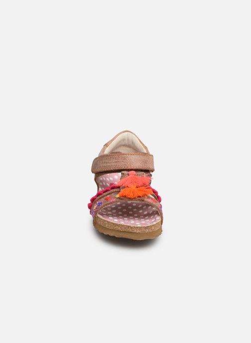 Sandales et nu-pieds Shoesme Siloé Marron vue portées chaussures