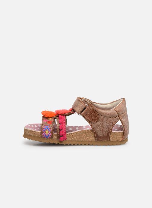Sandals Shoesme Siloé Brown front view