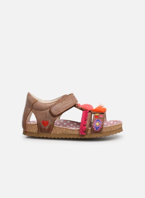 Sandalen Shoesme Siloé Bruin achterkant