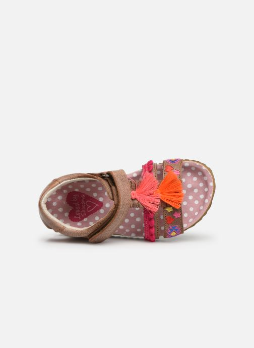 Sandalen Shoesme Siloé Bruin links