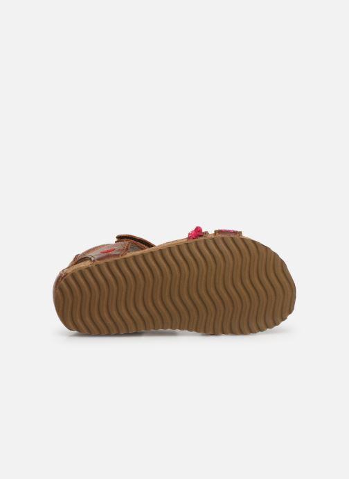 Sandales et nu-pieds Shoesme Siloé Marron vue haut