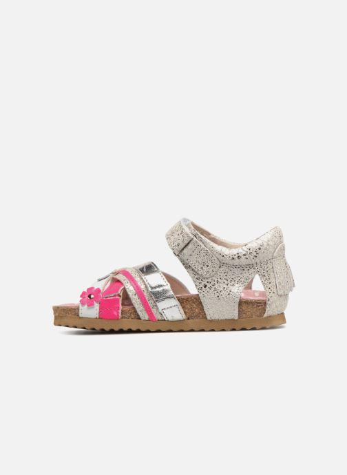 Sandalen Shoesme Sixte silber ansicht von vorne