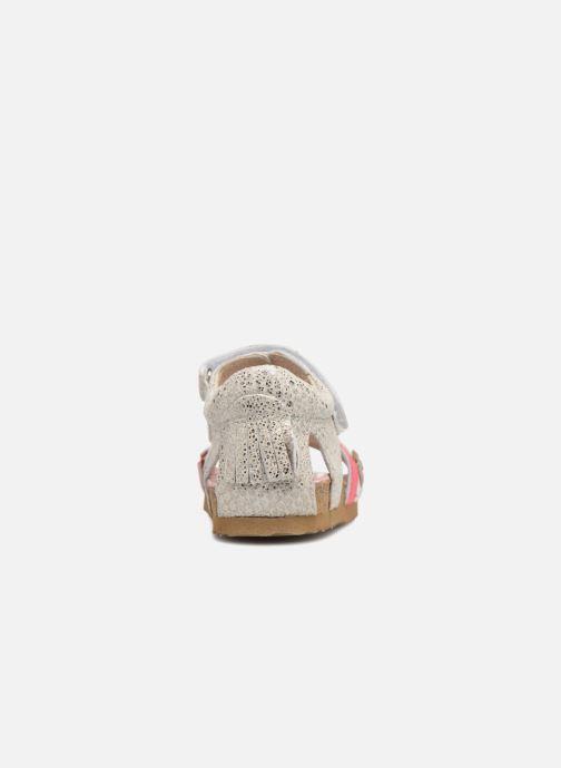 Sandalen Shoesme Sixte silber ansicht von rechts
